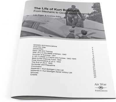 the-life-of-kurt-buhligen-cover